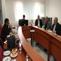نشست مشترک مسئولان انجمن تولیدکنندگان لوله و اتصالات پلی اتیلن و مدیران شرکت بورس کالا